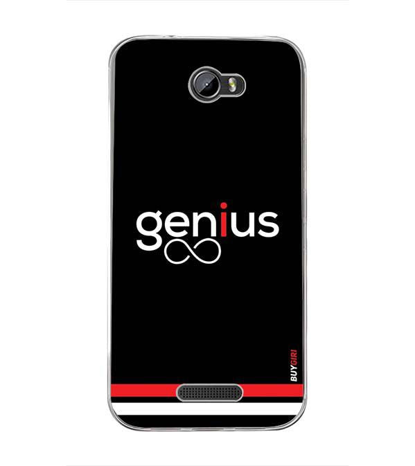 Genius Back Cover for Intex Lion 3