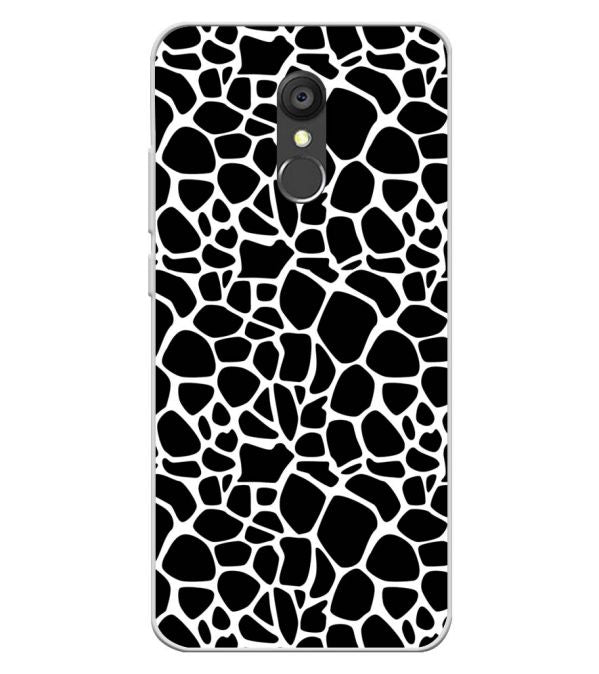 competitive price 75261 5f4a3 Giraffe Pattern Soft Silicone Back Cover for Panasonic Eluga Ray 550