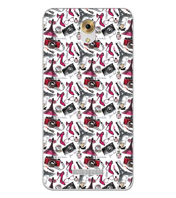Girl Paris Dream Back Cover for Coolpad Mega 5M-Image3