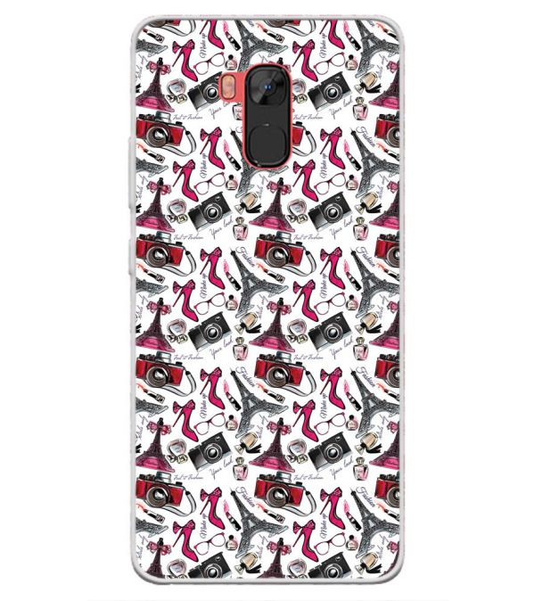 Girl Paris Dream Back Cover for Infinix Note 5 Stylus-Image3