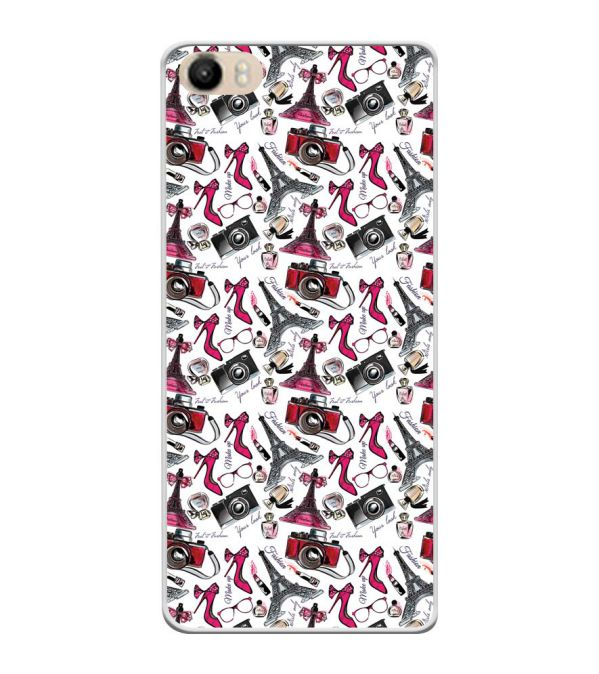 Girl Paris Dream Soft Silicone Back Cover for Itel PowerPro P41