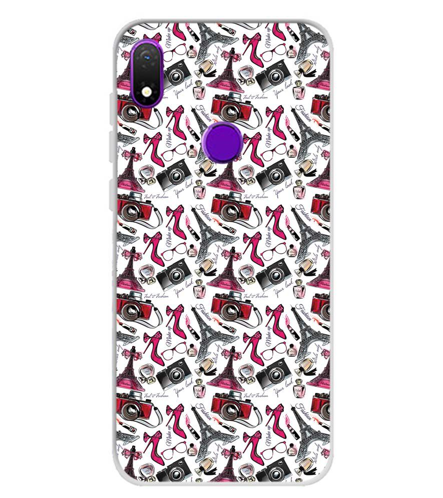Girl Paris Dream Soft Silicone Back Cover for Mobiistar X1 Notch