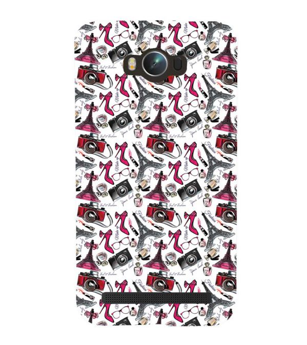 Girl Paris Dream Back Cover for Asus Zenfone Max ZC550KL