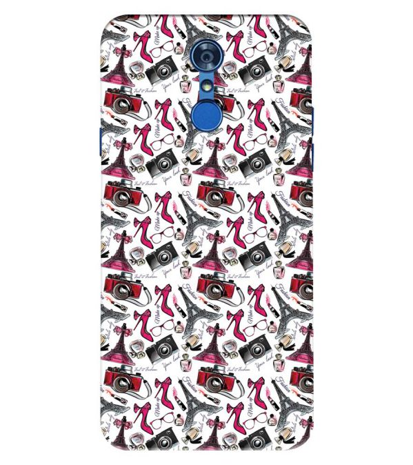 Girl Paris Dream Back Cover for LG Q7