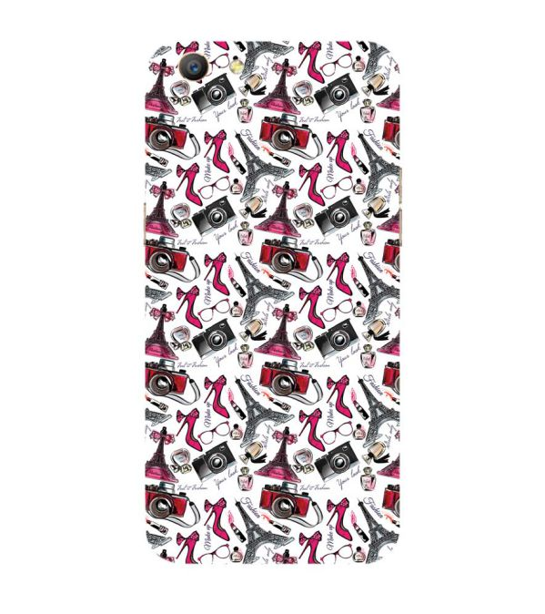 Girl Paris Dream Back Cover for Oppo A57 : A39