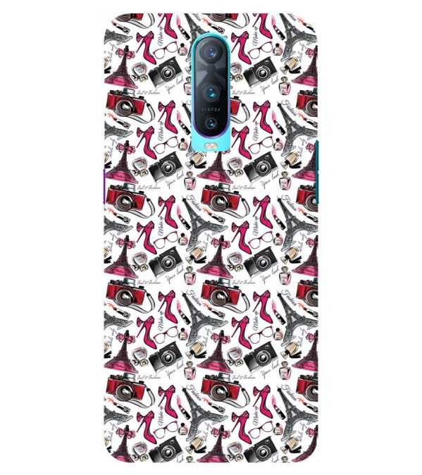 Girl Paris Dream Back Cover for Oppo RX17 Pro