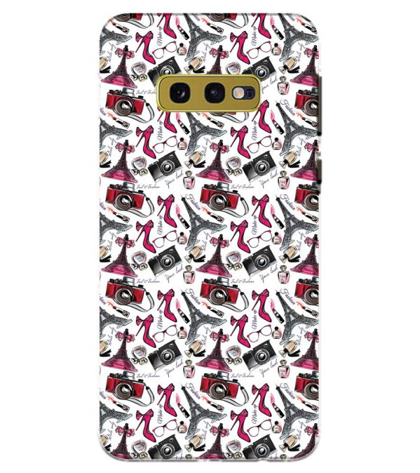 Girl Paris Dream Back Cover for Samsung Galaxy S10e (5.8 Inch Screen)