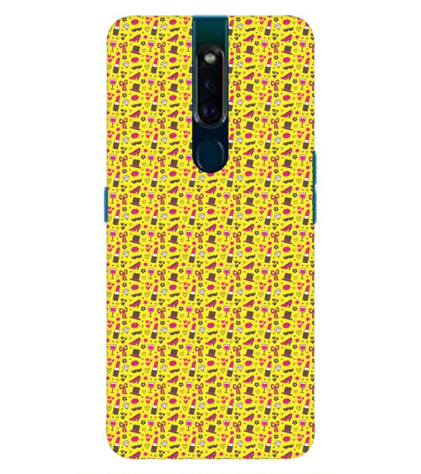 competitive price e1017 c7c9a Girl's Dream Pattern Back Cover for Oppo F11 Pro