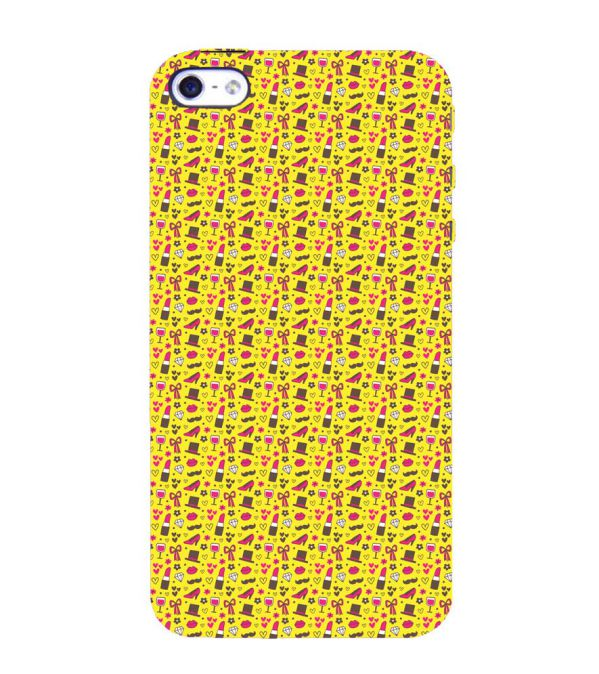 Girl's Dream Pattern Back Cover for Apple iPhone 4 : 4S
