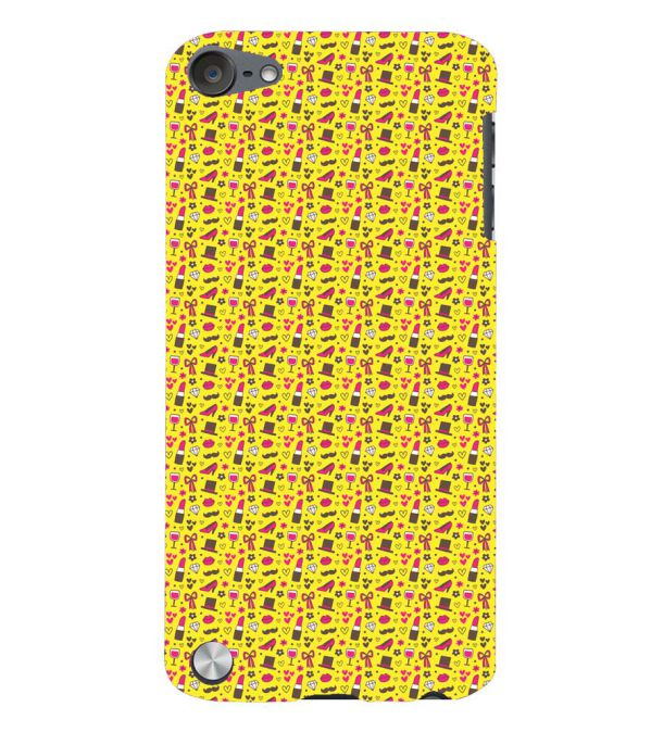 Girl's Dream Pattern Back Cover for Apple iPod Touch 5