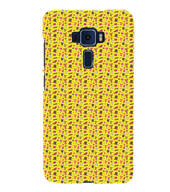 Girl's Dream Pattern Back Cover for Asus Zenfone 3 Deluxe ZS570KL
