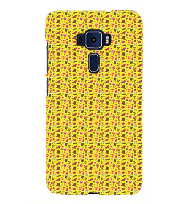 Girl's Dream Pattern Back Cover for Asus Zenfone 3 ZE552KL