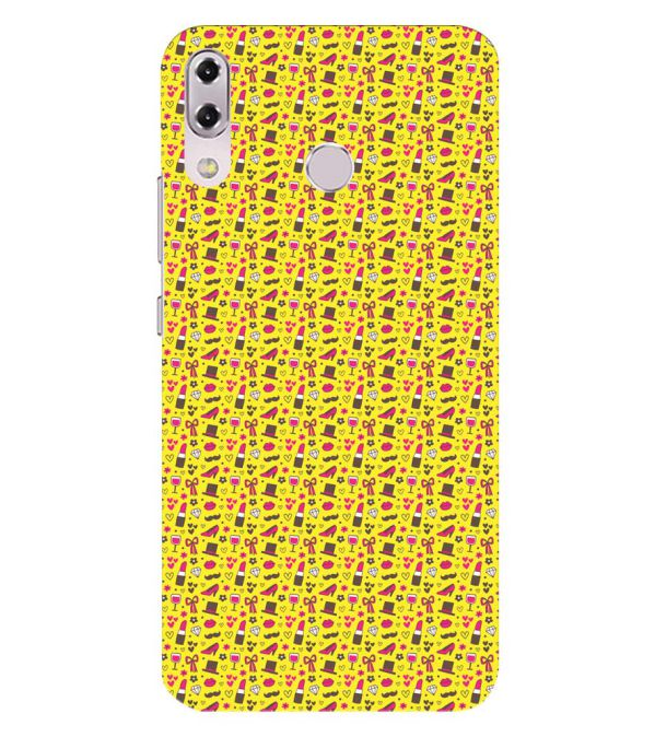 Girl's Dream Pattern Back Cover for Asus Zenfone 5z ZS620KL
