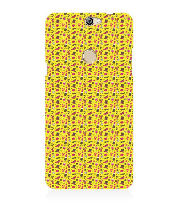 Girl's Dream Pattern Back Cover for Coolpad Max