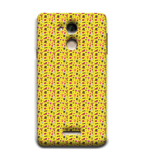 Girl's Dream Pattern Back Cover for Coolpad Note 5