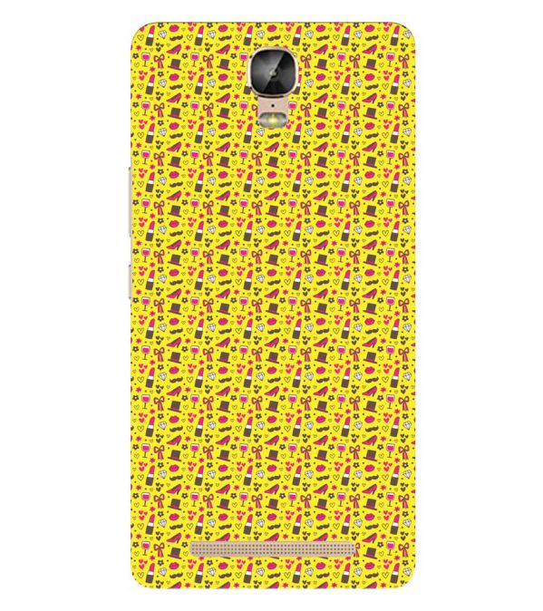 Girl's Dream Pattern Back Cover for Gionee Marathon M5 Plus