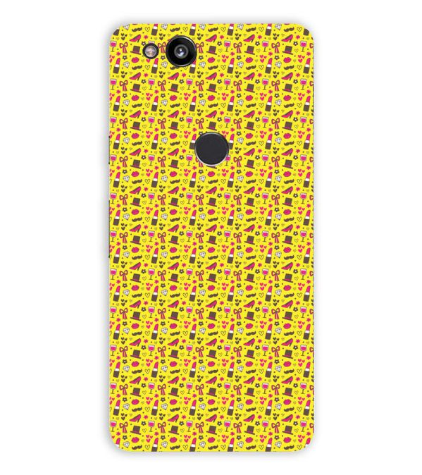 Girl's Dream Pattern Back Cover for Google Pixel 2 (5 Inch Screen)