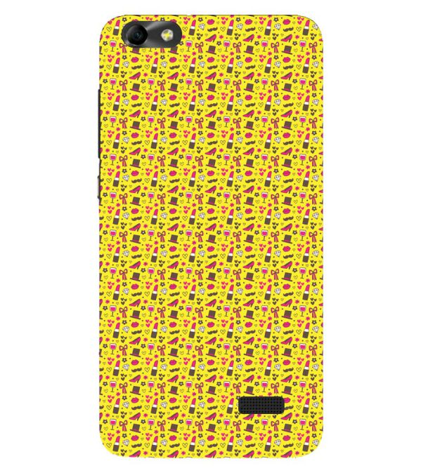 Girl's Dream Pattern Back Cover for Huawei Honor 4C