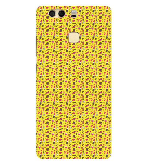 Girl's Dream Pattern Back Cover for Huawei P9