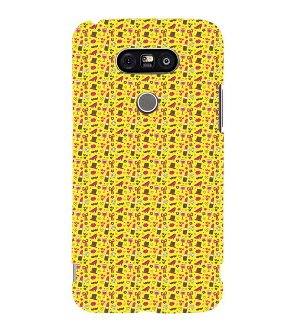 Girl's Dream Pattern Back Cover for LG G5