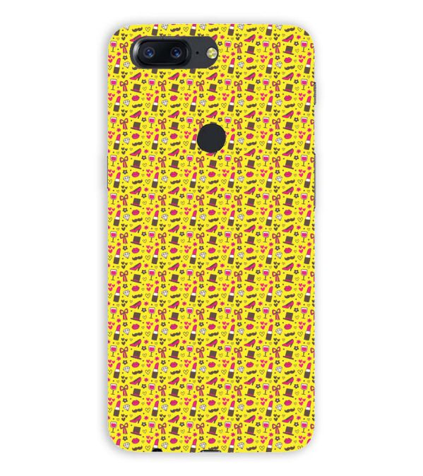 Girl's Dream Pattern Back Cover for OnePlus 5T