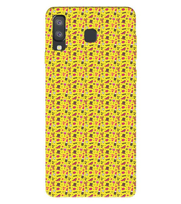 Girl's Dream Pattern Back Cover for Samsung Galaxy A8 Star