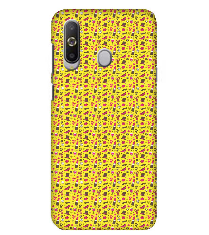 Girl's Dream Pattern Back Cover for Samsung Galaxy A8s
