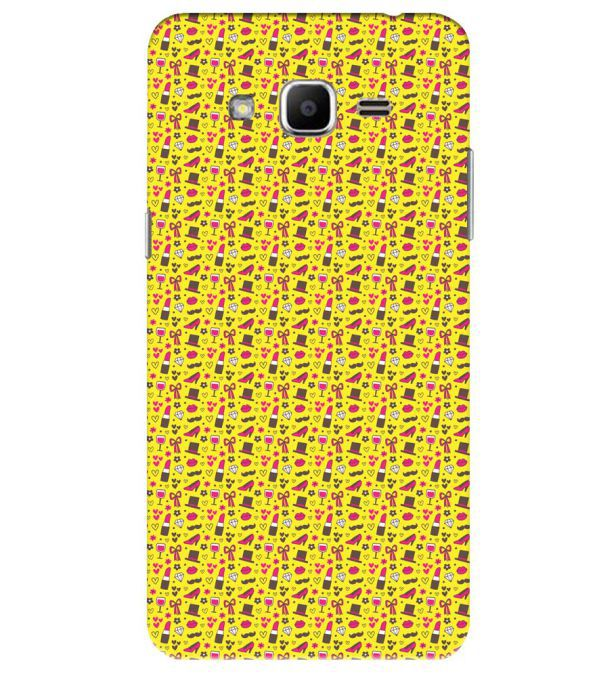 Girl's Dream Pattern Back Cover for Samsung Galaxy J2 Ace