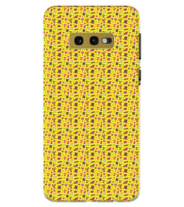 Girl's Dream Pattern Back Cover for Samsung Galaxy S10e (5.8 Inch Screen)