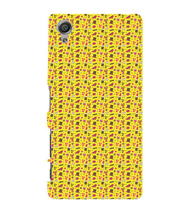 Girl's Dream Pattern Back Cover for Sony Xperia X