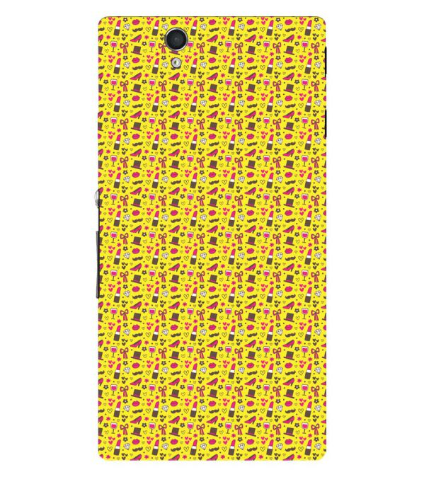 Girl's Dream Pattern Back Cover for Sony Xperia Z