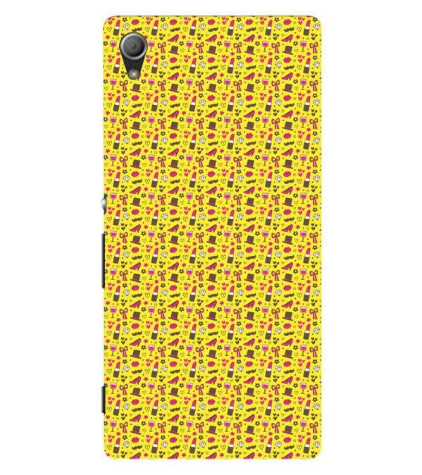 Girl's Dream Pattern Back Cover for Sony Xperia Z3+ and Xperia Z4