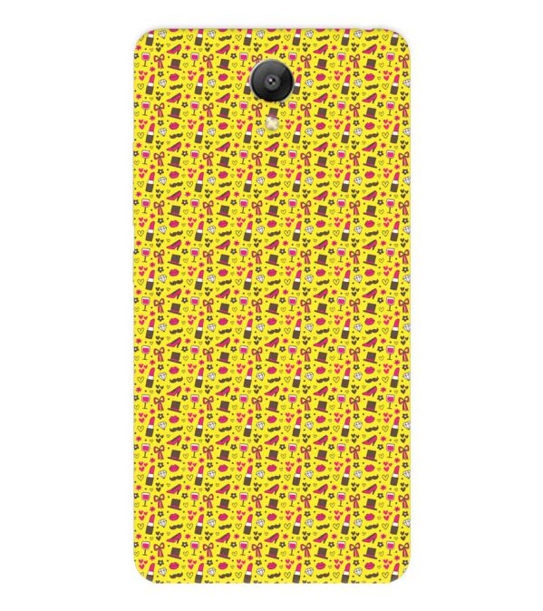 Girl's Dream Pattern Back Cover for Xiaomi Redmi Note 2