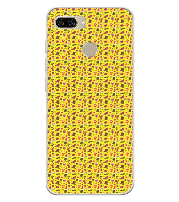 Girl's Dream Pattern Soft Silicone Back Cover for Gionee S11 lite