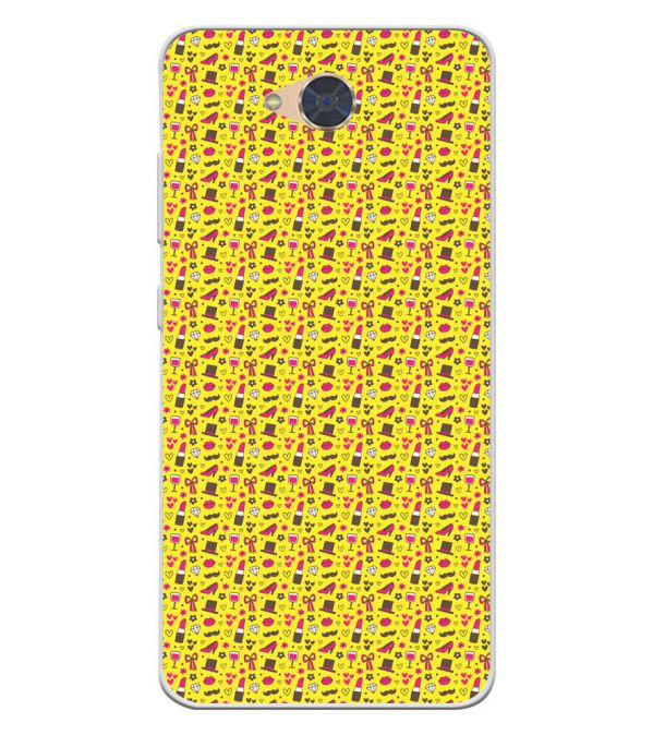 Girl's Dream Pattern Soft Silicone Back Cover for Gionee S6Pro