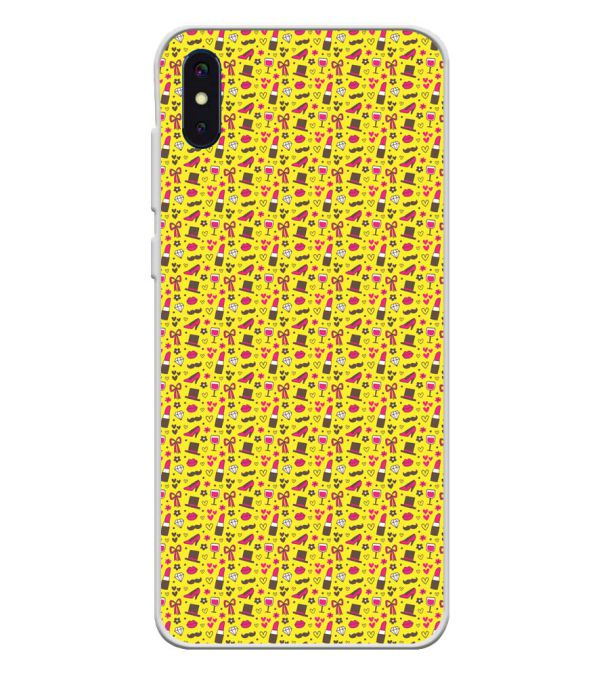 Girl's Dream Pattern Soft Silicone Back Cover for iVoomi i2