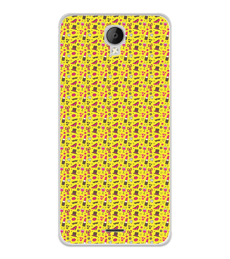 Girl's Dream Pattern Soft Silicone Back Cover for Micromax Spark Go