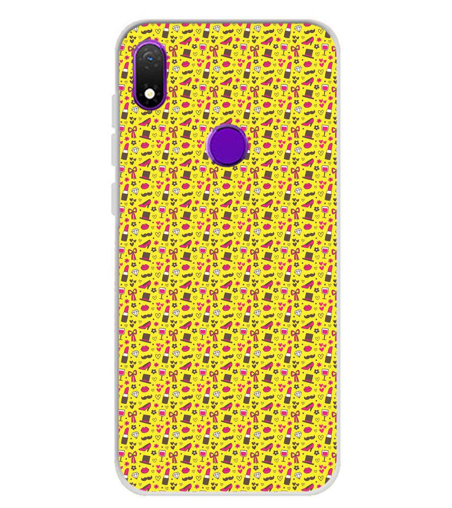 Girl's Dream Pattern Soft Silicone Back Cover for Mobiistar X1 Notch
