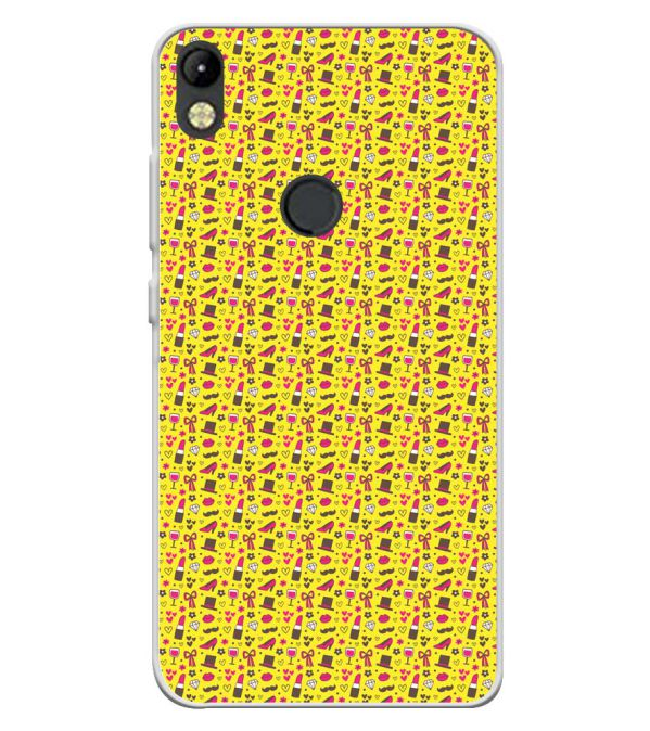 Girl's Dream Pattern Soft Silicone Back Cover for Tecno Camon I