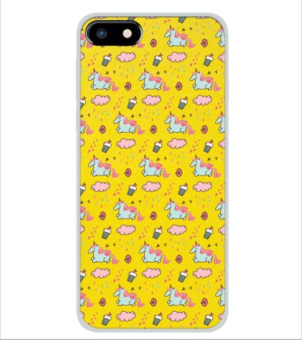 huge selection of 68c90 4210a Girlie Yellow Pattern Back Cover for Micromax Canvas 1 2018