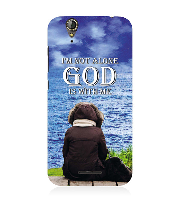 God is with Me Back Cover for Acer Liquid Zade 630