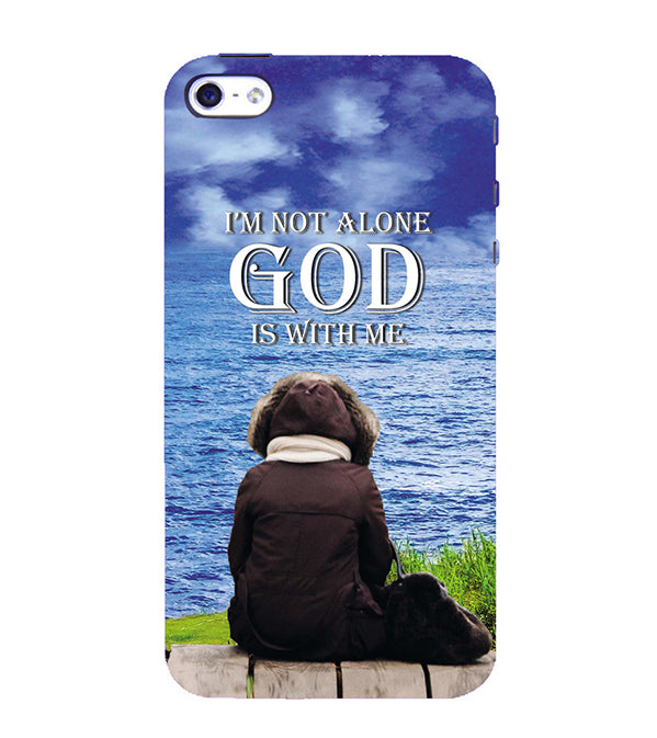 God is with Me Back Cover for Apple iPhone 4 : 4S