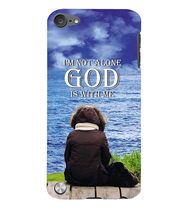 God is with Me Back Cover for Apple iPod Touch 5