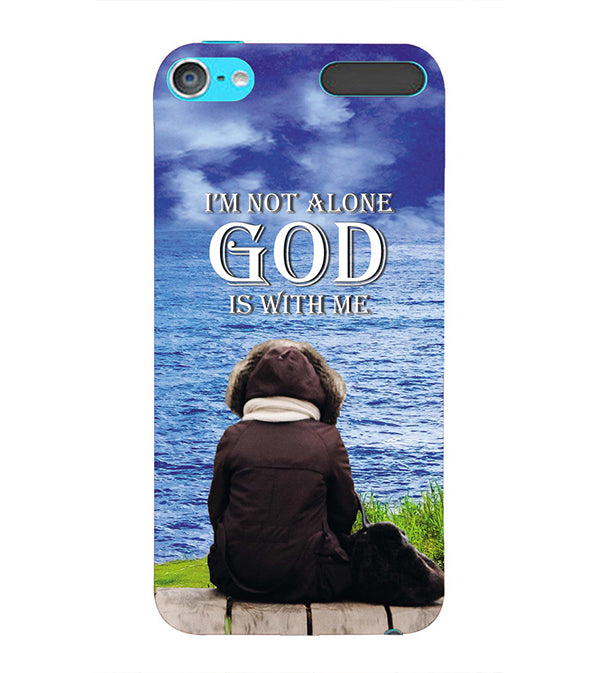 God is with Me Back Cover for Apple iPod Touch 6
