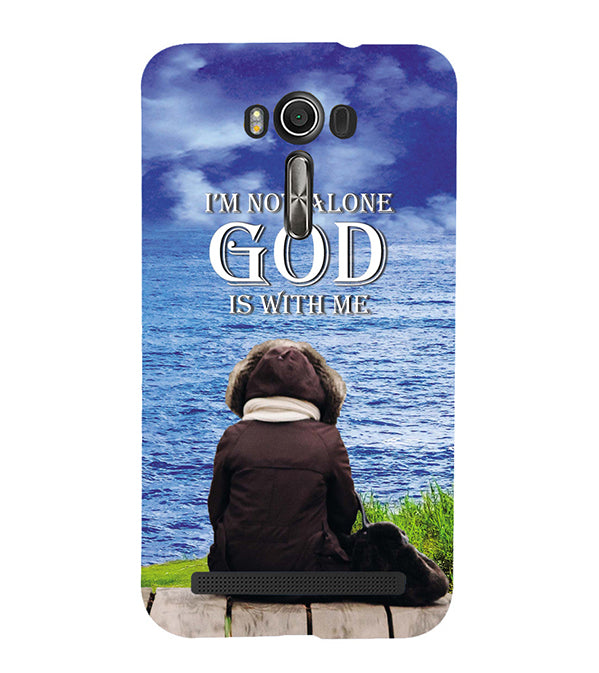 God is with Me Back Cover for Asus Zenfone 2 Laser ZE550KL
