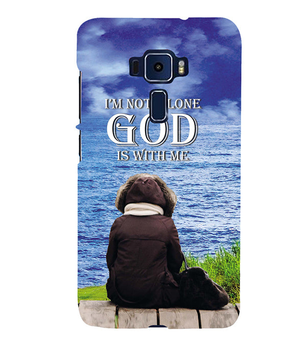 God is with Me Back Cover for Asus Zenfone 3 Deluxe ZS570KL