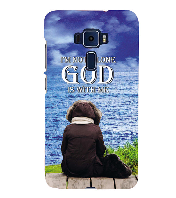 God is with Me Back Cover for Asus Zenfone 3 ZE520KL