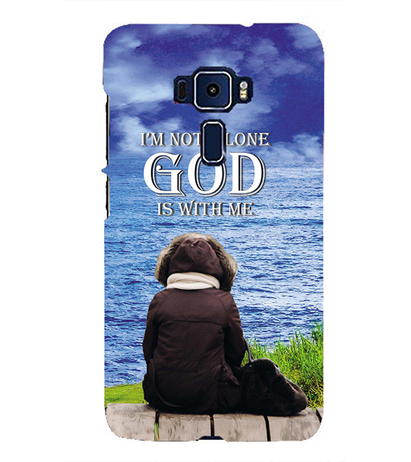 God is with Me Back Cover for Asus Zenfone 3 ZE552KL