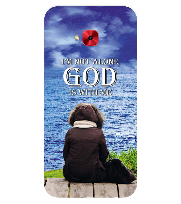 God is with Me Back Cover for Asus Zenfone 4 Selfie