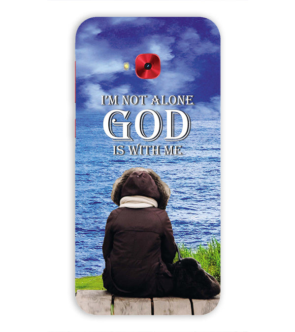 God is with Me Back Cover for Asus Zenfone 4 Selfie Pro ZD552KL